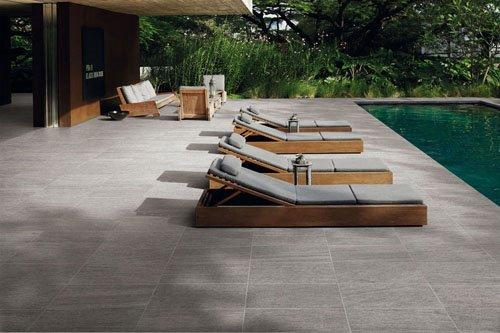 Pavimenti per esterni: piastrelle in gres porcellanato panaria