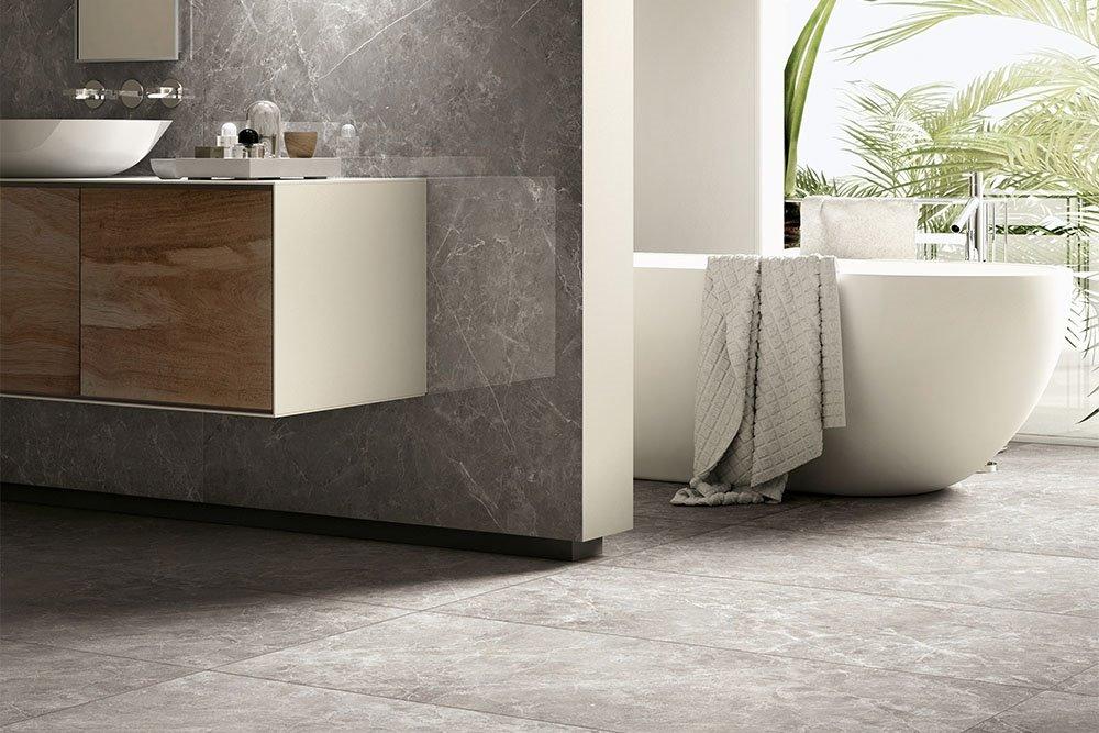 Piastrelle per bagno: rivestimenti in ceramica e gres panaria