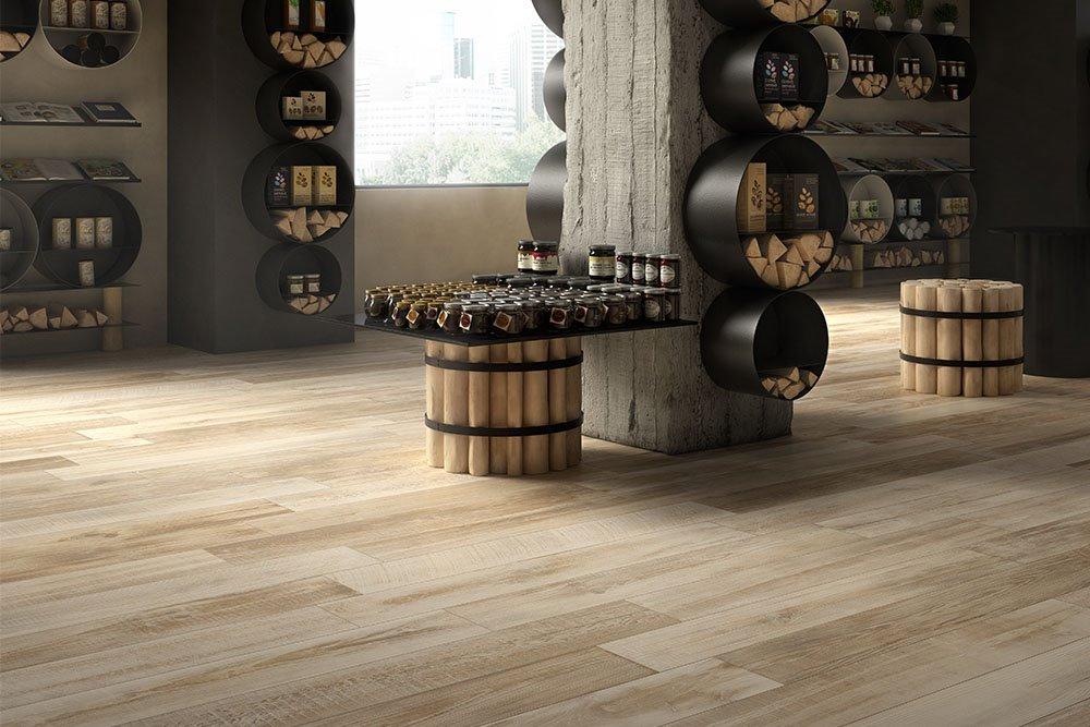 Pavimenti In Ceramica Tipo Legno Prezzi : Gres porcellanato effetto legno piastrelle e pavimenti panaria