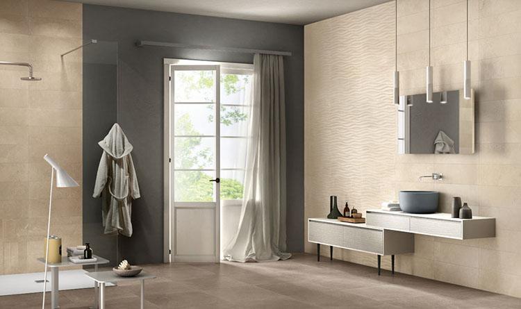 Altezza rivestimento bagno: spunti e idee panaria ceramica