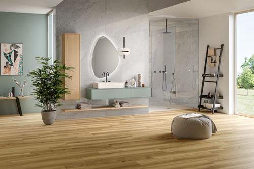 Bagno Stile Naturale : Piastrelle per bagno: rivestimenti in ceramica e gres panaria