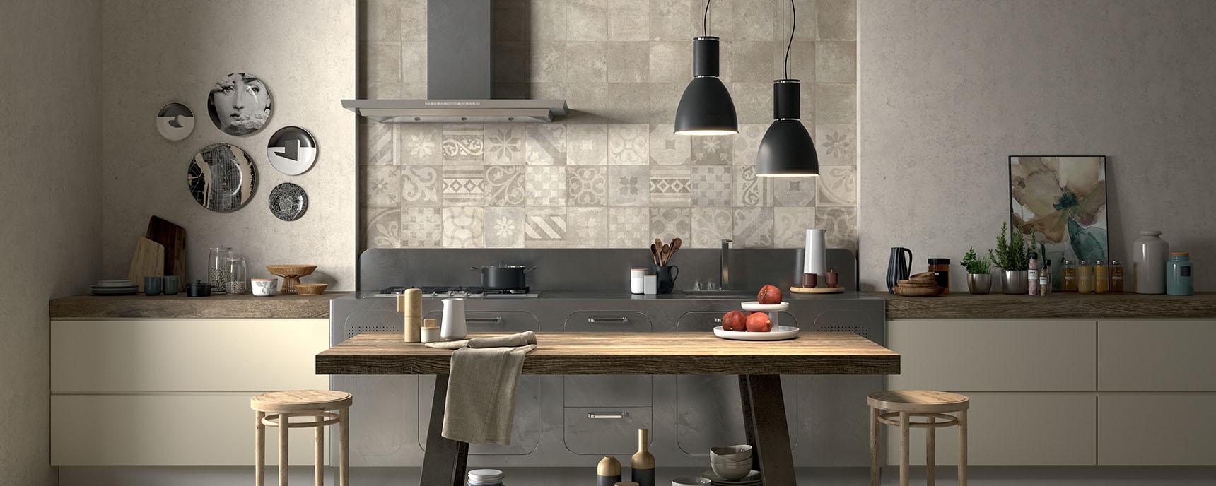 Idee Per La Cucina 4 idee e stili per la cucina | panaria ceramica